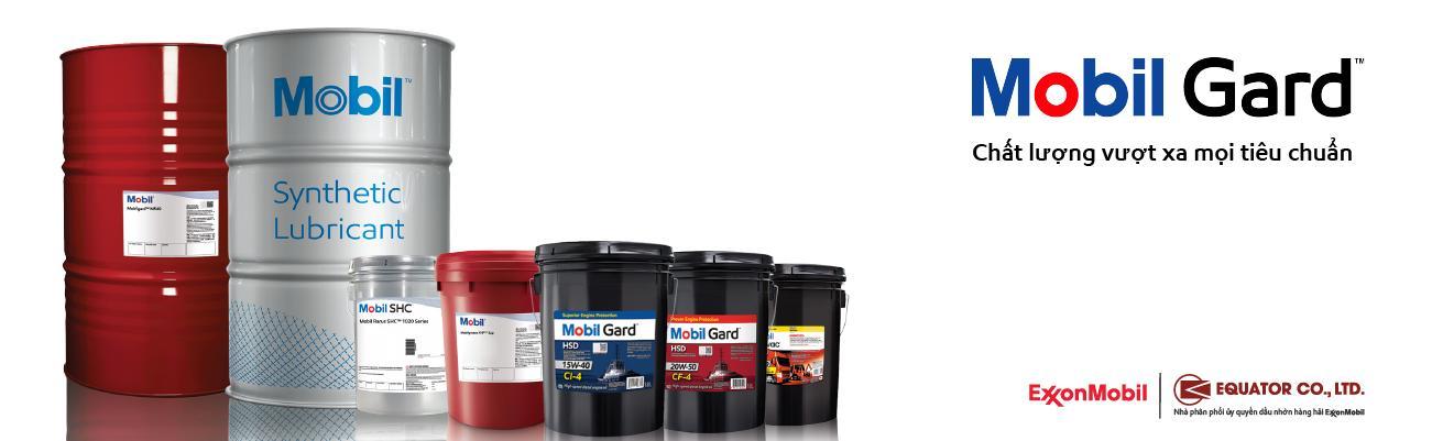Tìm hiểu thêm các sản phẩm dầu nhớt Mobil